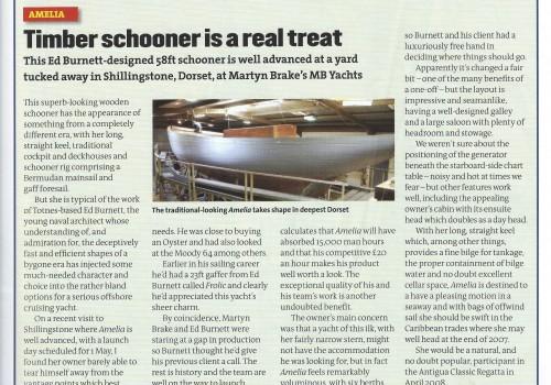 Yachting World Magazine February Issue 2007
