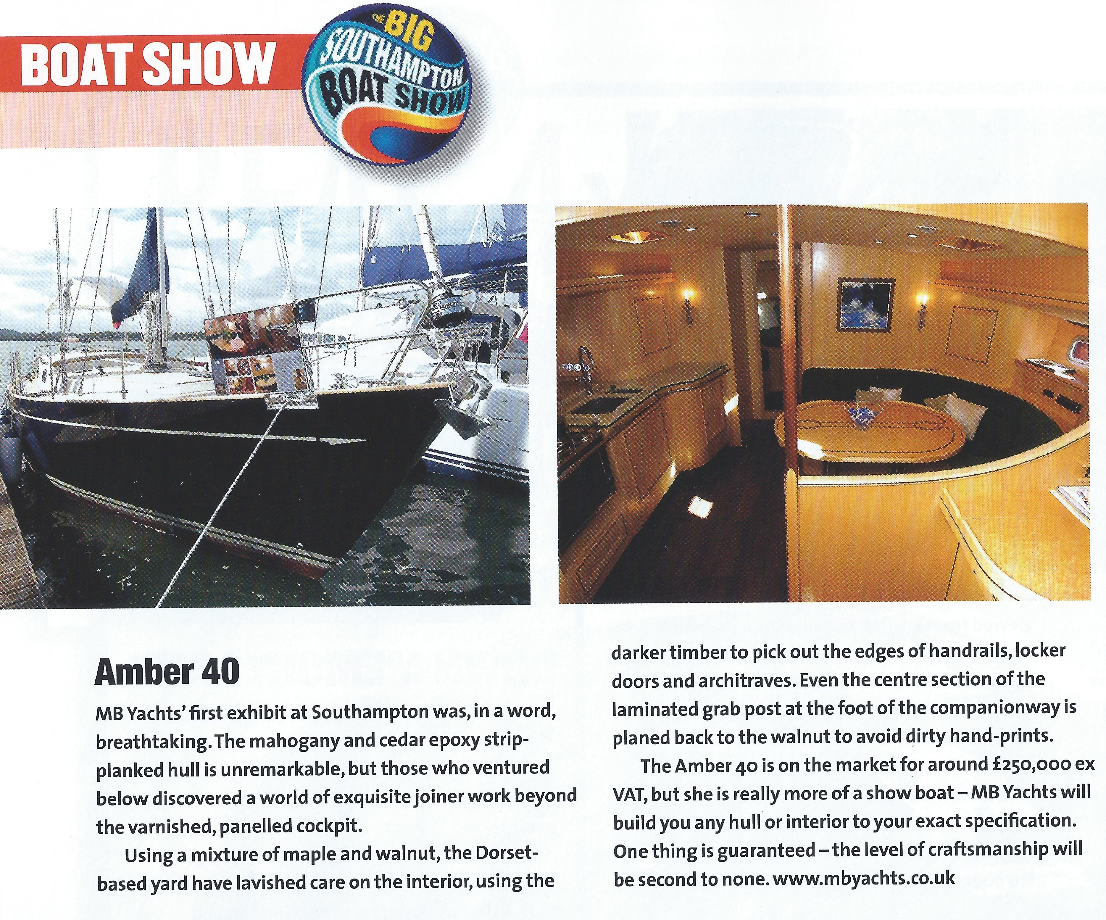 Yachting World Magazine   November Issue 2005