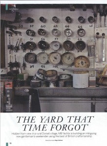 MB Yachts - magazine